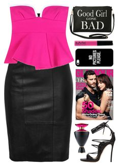 """""""Good girl gone bad"""" by celida-loves-pink ❤ liked on Polyvore featuring Torrid, Marni, Dsquared2, Casetify, Bulgari and Minimalist"""
