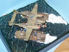 Model Shipwrights :: second and last diorama ship (for now)