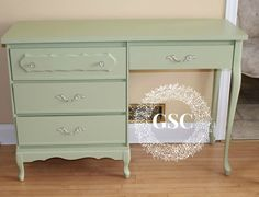French Provincial Desk with some Fusion   Gates Shabby Chic