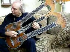This guitar was built in Paris in 1830's and the music was written just for this 3 neck guitar. It is a historic instrument. Fernando Sor was the father of the Classical Guitar movement.