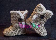 crochet baby boot patternRighteous Crochet Baby Ugg Boots Pattern Boots Ideas t3B4iSJD