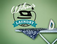 Personalized Laundry Sign Laundry Wall Decal by SignJunkies Laundry Room Decals, Laundry Art, Laundry Decor, Laundry Signs, Vinyl Wall Decals, Custom Vinyl Lettering, Room Stickers, Handmade Gifts, Decor Ideas