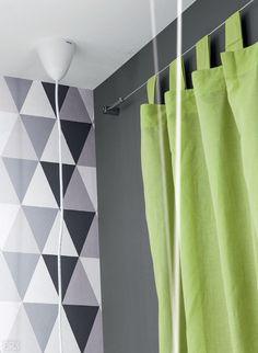 cortina com cabo de aço