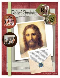 Relief Society ideas and handouts
