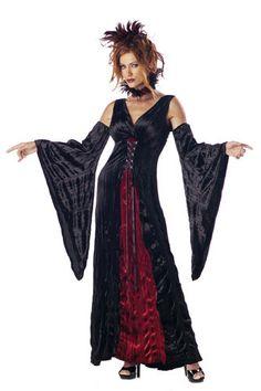 Vampire's Mistress Adult Womens Halloween Costume #CompleteCostume