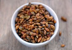 Waste Not! Roast Your Squash Seeds | Kitchn
