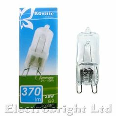 2x 20W G9 Dimmable Eco Halogen Capsule Light Bulbs Lamp