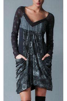 DRESS ANGELS NEVER DIE Recyklované Oblečení c6278bf837