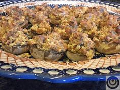 Recipe for easy stuffted mushrooms