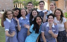 A team of Bond University students are back in their school uniforms this week to raise awareness and funds in support of girls' education in Sierra Leone.