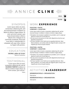 Kick Ass Resume For Openoffice 4  Template