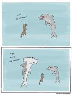 Funny pictures about Hammer Head Sharks Are The T-Rex Of The Sea. Oh, and cool pics about Hammer Head Sharks Are The T-Rex Of The Sea. Also, Hammer Head Sharks Are The T-Rex Of The Sea photos. Funny Animal Comics, Cute Comics, Funny Comics, Funny Animals, Cute Animals, Funny Shit, Funny Cute, The Funny, Hilarious