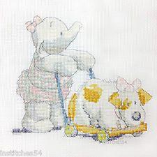 Humphreys Corner Cross Stitch Kit Baby Daisy With Dog