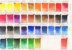 Какие цвета оставить в своей акварельной палитре, а что убрать? Узнайте, чем руководствоваться, чтобы решить это для себя.