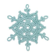 Free Crochet Pattern for Taryn Snowflake...love this one!