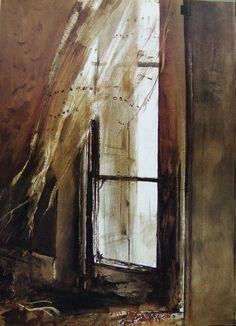 Andrew Wyeth - Incoming Fog