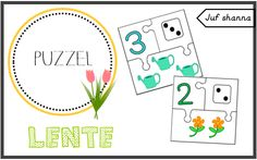 Thema lente: puzzel