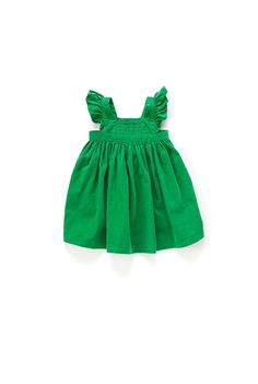 Country Road - Baby Girls Dresses - Cord Shirred Pinafore