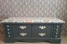 I'd like to do something like this with my Lane cedar chest.