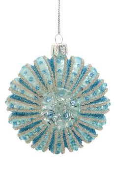 JIM MARVIN 'Medallion' Beaded Glass Ornament available at #Nordstrom