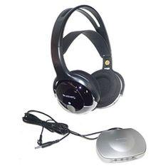 Unisar TV Listener J3 Infrared Wireless Headphones - Walmart.com