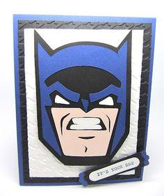 My Son's Batman card