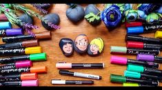 Archie comics fan art on stone with Chalkola Chalk Markers 😄 - Supplies Chalk Markers, Archie Comics, Chalk Art, Acrylic Art, Art Tutorials, Art Supplies, Watercolor Art, Fan Art, Crafty