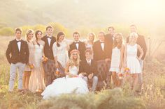such a pretty boho bride - check out the whole wedding