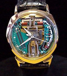 1960 Accutron Spaceview Alpha fully Restored and Gorgeous