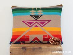 Pendleton pillow