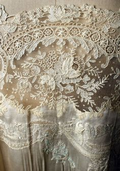 Wedding Lingerie, 1929.... such pretty detail