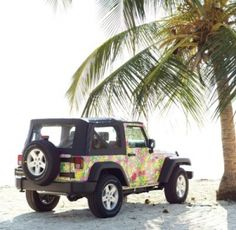 Lilly Pullitzer Jeep!