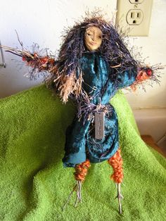 A gift to Juergen. Spirit Doll wishing PEACE