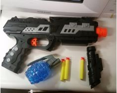 Shooting Gun Toy Foam Dart & Water Polymer Ball 2-in-1 with red light target Sale:$24.99 http://amzn.to/28Wqw7g https://dashburst.com/michaela09/132