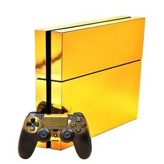 Share with someone who would love this! :)  http://www.hellodefiance.com/products/gold-skin-ps4-protector?utm_campaign=social_autopilot&utm_source=pin&utm_medium=pin