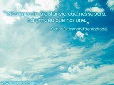 União - Carlos Drummond de Andrade - Mensagens Com Amor (106518)