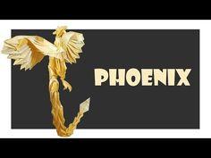 Phoenix Origami Tutorial (Satoshi Kamiya) - YouTube