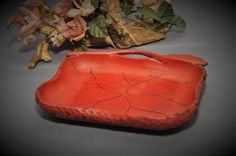 Antique Taisho Period  Japanese Cypress Nut Tray  Circa by DLDowns