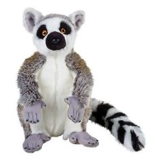 Lelly National Geographic Lemur Hand Puppet