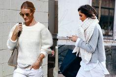 Como usar branco no inverno