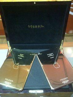 iPad mini em ouro