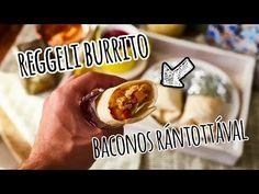 Ti milyen ütős reggelivel indulnátok el otthonról? A válasz: burrito baconos tojásrántotta! Ha reggelente rohansz, akár este is összedobhatod.
