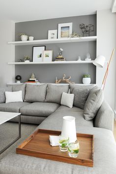 Inspiring Space: A Spa-like Living Room for Expectant Parents - Western Living Magazine