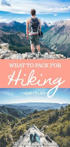 The Essential Hiking Packing List for Beginners Planning your first hiking trip? - The Essential Hiking Packing List for Beginners Planning your first hiking trip? This essential hik - Hiking Gear List, Hiking Checklist, Hiking Essentials, Backpacking Tips, Hiking Tips, Packing Tips For Travel, Ultralight Backpacking, Packing Lists, Travel Ideas