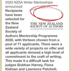 I can finally announce that I was accepted for a writing mentorship! I'm so excited to be paired up with one of NZ's talented authors (TBA). I know that I will learn so much from the process and it will help bring my novel up to a higher standard. I want to make it the best it can be, for you all to enjoy! Many thanks to @nzsocietyofauthors for this wonderful opportunity 😁🙌📚
