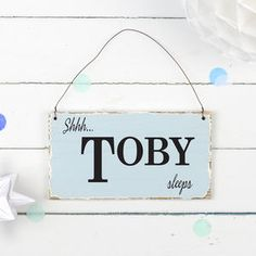 Personalised Vintage Style Nursery Sign by Delightful Living, the perfect gift for Explore more unique gifts in our curated marketplace. Unique Christening Gifts, Vintage Style, Vintage Fashion, Baby Wish List, Baby Must Haves, Nursery Signs, Personalized Baby Gifts, Gift Tags, Unique Gifts