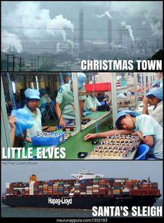 Terveisiä Joulupukin pajalta! - hauskat kuvat - Naurunappula