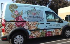 Wildflower Van Wrap | Starfish Signs & Graphics