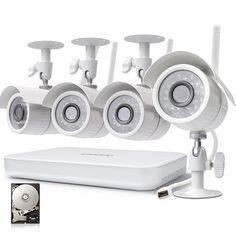 Wondering if you should get wireless home security cameras? it should not be confusing, this post will look at the Top 5 Benefits Provided By Wireless Home Security Cameras Best Security Cameras, Wireless Security Camera System, Home Security Tips, Wireless Home Security Systems, House Security, Security Products, Security Surveillance, Security Alarm, Surveillance System