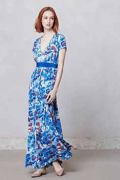 32f80230bcd8 arabella blue poppy dress \\ peter som for anthropologie Pretty Outfits,  Pretty Clothes,